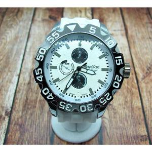 Men's Emporio Moda Italia Silver Chronograph Watch